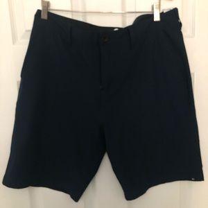 Quiksilver 34 navy amphibians shorts EUC